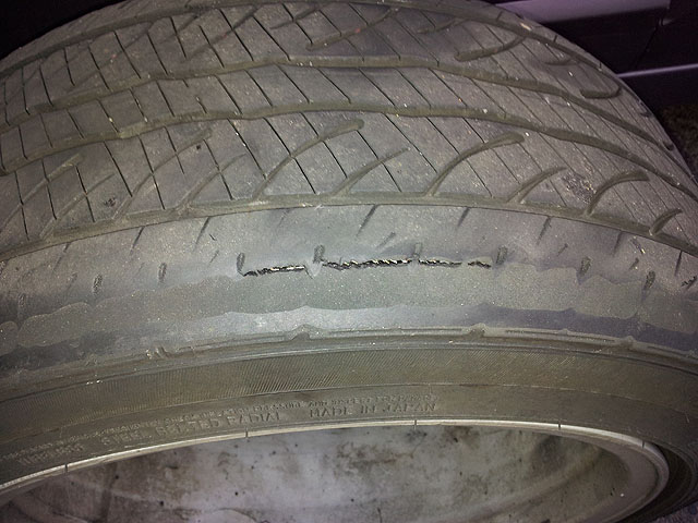 uneven tire wear   lexus     lexus owners club  north america