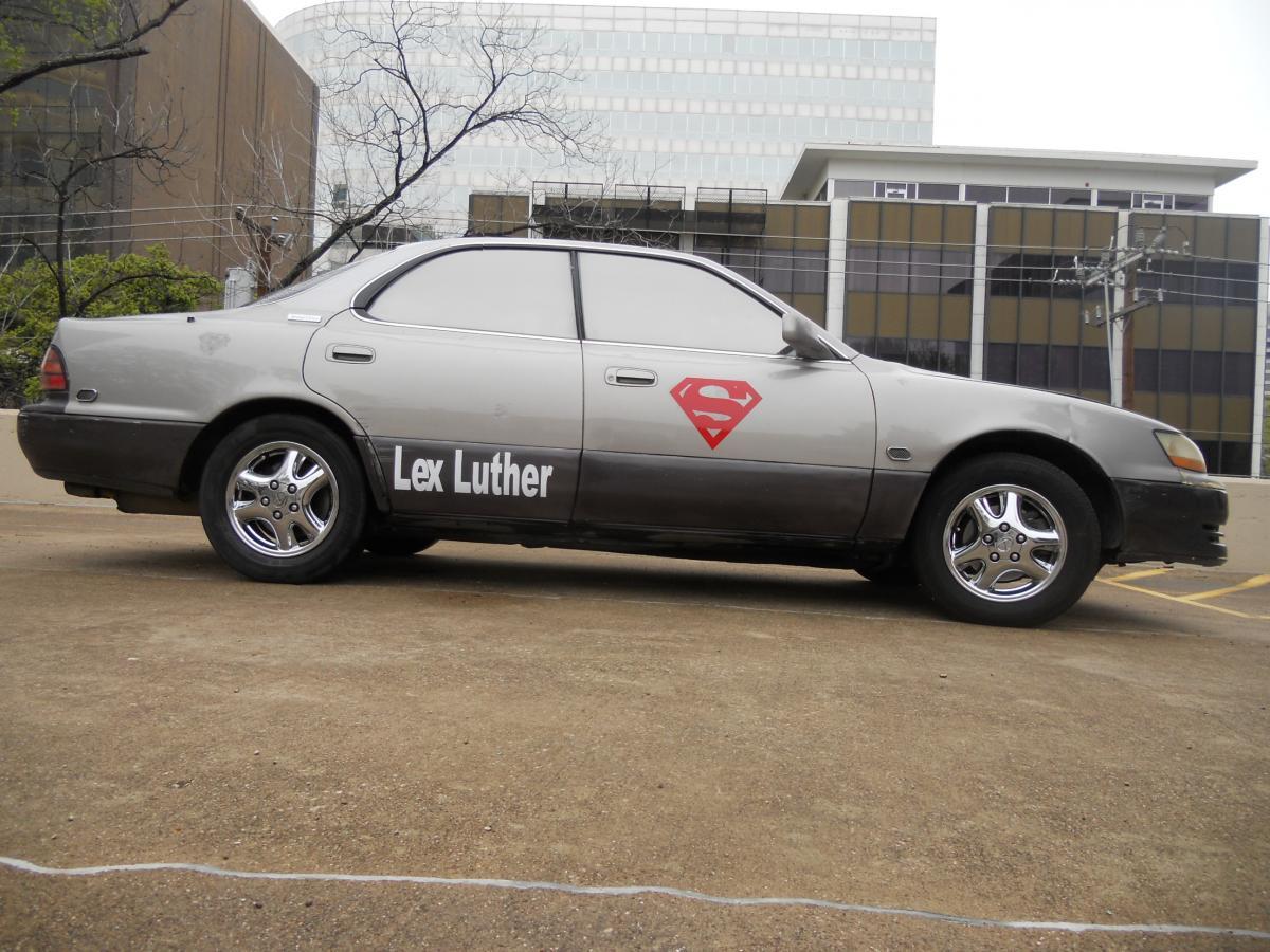 is lex luther a good name for my car 92 06 lexus. Black Bedroom Furniture Sets. Home Design Ideas