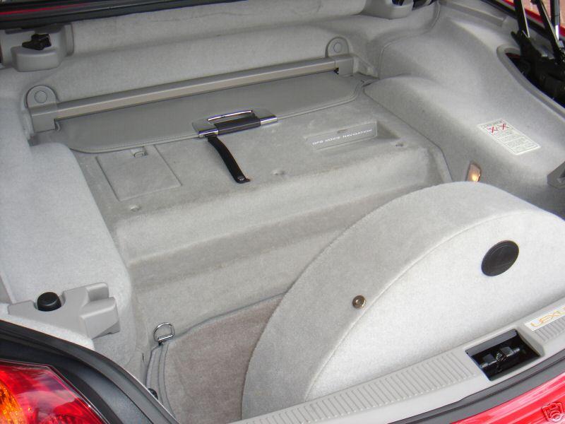 Spare Tire Kit 01 10 Lexus Sc430 Lexus Owners Club