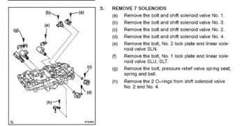 P0753 Shift Solenoid A - 90 - 00 Lexus LS400 - Lexus Owners