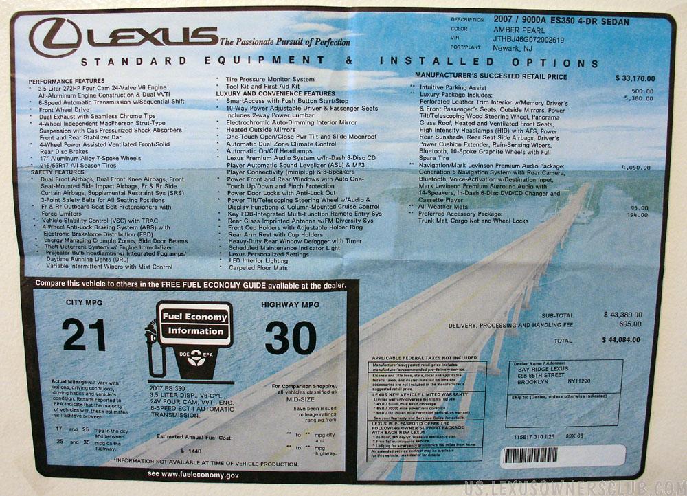 Lexus ES350 5-12-06-72dpi.jpg