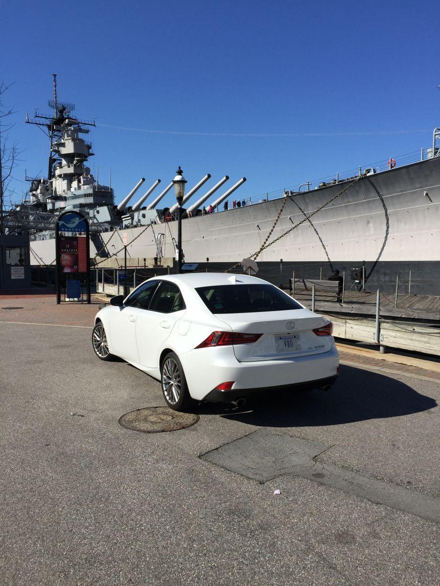USS Wisconsin (BB-64) & My IS250