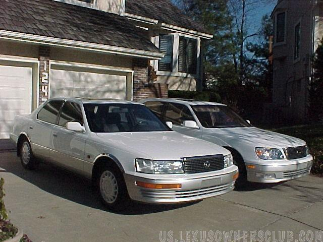 1990LS400's (Jim's) Lexus cars owned