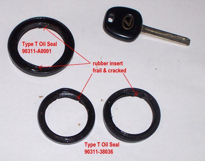Type T Oil Seals