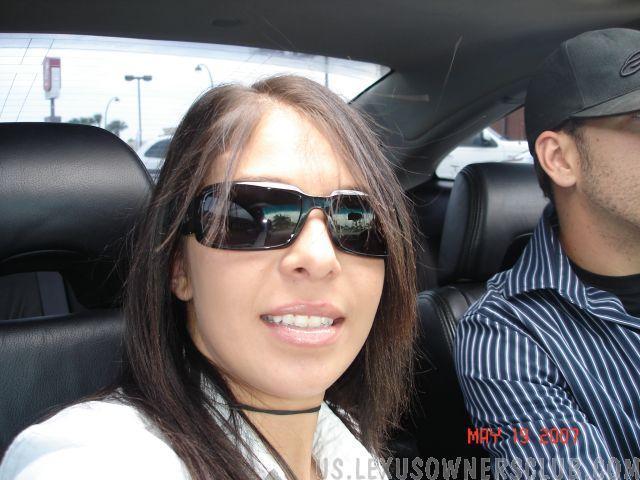 me in mikes car.jpg