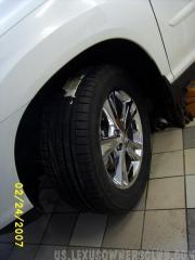 RX 400H Tires Front & Rear