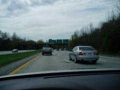 En route to the meet.