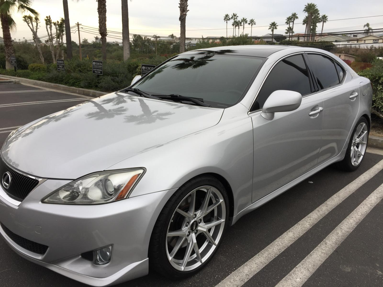 "VMR 804 Staggered 19"" Wheels for 2007 Lexus IS350"