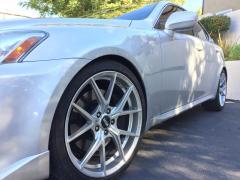 "VMR 804 19"" Wheels for 2007 Lexus IS350"