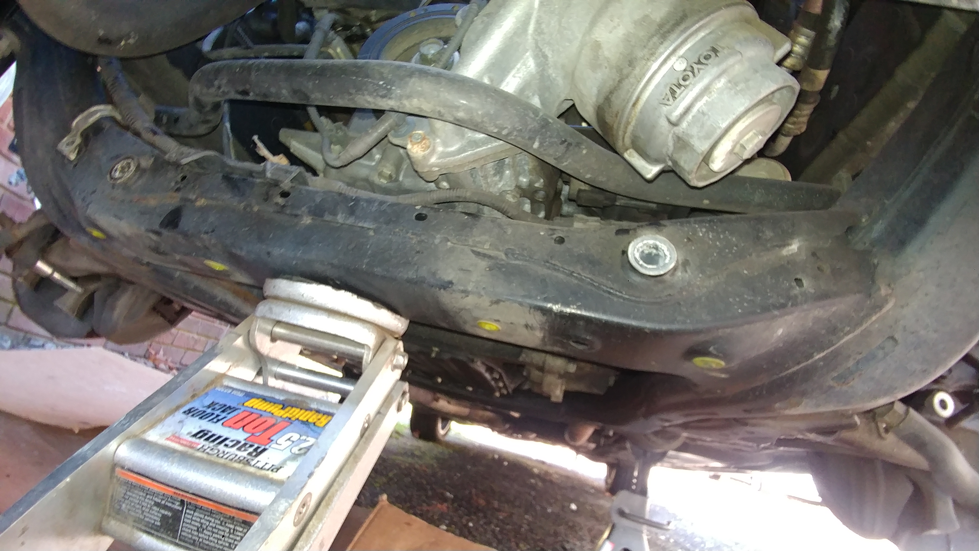 Front differential removal diy - 06 - 12 Lexus GS300 / GS350