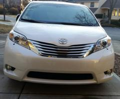 "2014 Sienna Limited - the ""Geezer Bus"""